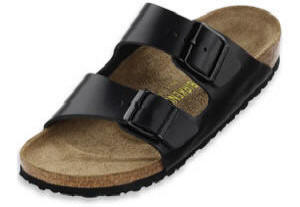 Birkenstock  Hunter Black Leather  Arizona