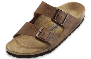 Birkenstock Soft Footbed Sumatra Brown Leather  Arizona